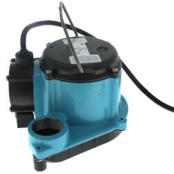 6-CIA-ML, 115v 1/3 HP<br>45 GPM Auto Submersible Sump Pump, 10' Cord Product Image