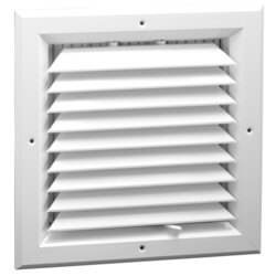 """10"""" x 10"""" (Wall Opening Size) White Ceiling Diffuser (A501MS Series) Product Image"""