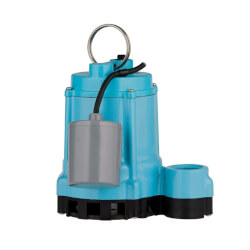 9EC-CIA-RF 4/10 HP, 70 GPM Submersible Sump Effluent Pump, 20 ft power cord Product Image