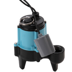 10SC-CIA-RF 1/2 HP<br>120 GPM Submersible Auto Sewage Pump Product Image