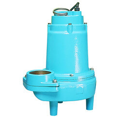 """14S-CIM 1/2 HP, 115V Submersible Man. Sewage Eject. Pump, 3"""" Discharge Product Image"""