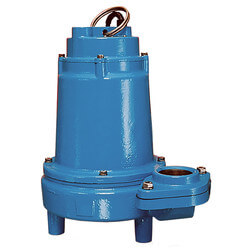 16EH-CIM 1 HP, 90 GPM, 208-240V - Submersible Man. Effluent Pump, 3 Ph. Product Image
