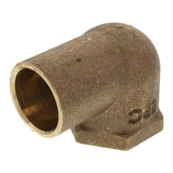 "3/4"" CxF 90° Elbow (Lead Free) Product Image"