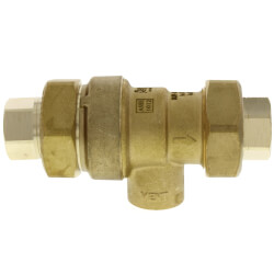 """1/2"""" NPT Dual Check Backflow Preventer w/ Atmospheric Vent Product Image"""