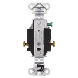 Heavy-Duty Spec-Grade Single Receptacle, 2P, Side Wire, NEMA 6-20R - White (20A, 250V) Product Image