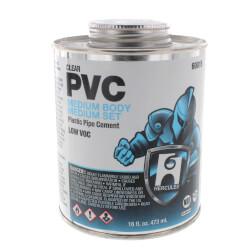 16 oz. Medium Body, Medium Set PVC Cement (Clear) Product Image
