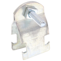 """3/4"""" Electro-Galvanized Universal Pipe Clamp Product Image"""