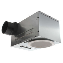 """Model 744 Recessed Fan w/ Light, 4"""" Round Duct<br>(70 CFM) Product Image"""