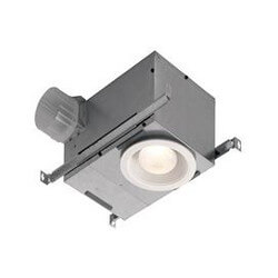 """Model 744LED Recessed Fan w/ LED Light, 4"""" Round Duct (70 CFM) Product Image"""