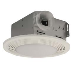 "750 Vent Fan w/ Light & Night Light, 4"" Round Duct 100 CFM Product Image"