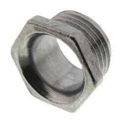 """1/2"""" Rigid Zinc Conduit Chase Nipple Product Image"""