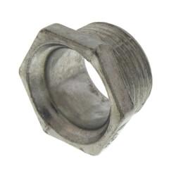 """3/4"""" Rigid Zinc Conduit Chase Nipple Product Image"""