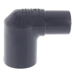 "1/2"" PVC Schedule 80 90° Street Elbow (Spigot x Socket) Product Image"
