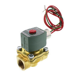 """3/4"""" Normally Closed Solenoid Valve, 5 CV (120v) Product Image"""
