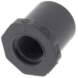 "1/2"" x 1/4"" CPVC Schedule 80 Flush Style Reducer Bushing (Spigot x FIPT) Product Image"