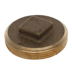"2"" Brass Raised Head Cleanout Plug Product Image"
