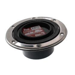 "TKO Flush to Floor Closet Flange w/ SS Swivel Ring (3"" Hub / 4"" Inside) Product Image"