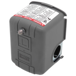 Water Pump Pressure Switch, 30/50 PSI, DPST Product Image