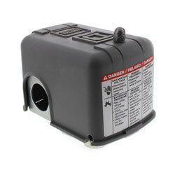 Pressure Switch, 40/60 PSI, 10 Amp, DPST Product Image