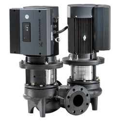 TP32-80/2 Direct Coupled In-Line Circulator, 1/2 HP BUBE Seal 115/208-230V Product Image