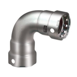 """3/4"""" MegaPress 304 Stainless Steel 90° Elbow Product Image"""