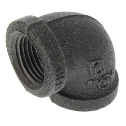 "1/2"" Black 90° Elbow Product Image"