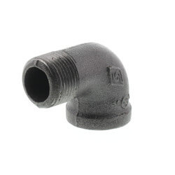 "3/4"" Black 90° Street Elbow Product Image"