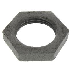 """1"""" Black Locknut Product Image"""