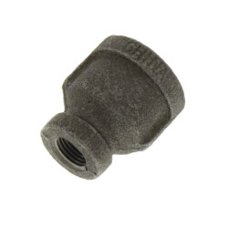 """3/8"""" x 1/8""""<br>Black Reducing Coupling Product Image"""