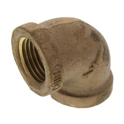 """1/2"""" FIP Brass 90° Elbow (Lead Free) Product Image"""