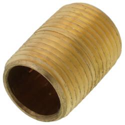 "1/2""x Close Brass Nipple (Lead Free) Product Image"