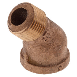 """3/8"""" Brass 45° Street Elbow (Lead Free) Product Image"""