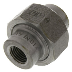 """1/4"""" 3000# A105N Carbon Steel Union (NPT) Product Image"""