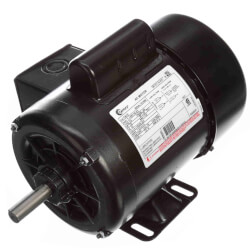 """6-1/2"""" Capacitor Start Motor (208-230/115V, 1725 RPM, 1/2 HP) Product Image"""