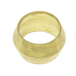 """(60-2) 1/8"""" OD Brass Compression Sleeve (Bag of 10) Product Image"""