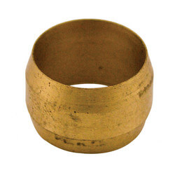 """(60-4) 1/4"""" OD Brass Compression Sleeve (Bag of 10) Product Image"""