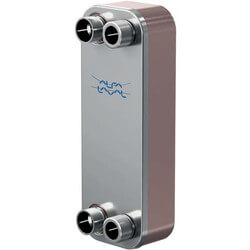 450,000 BTU/Hr (Domestic Water) CB30 Brazed Plate Heat Exchanger (18 Plates) Product Image