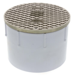 "4"" PVC Adjustable Floor Cleanout Product Image"