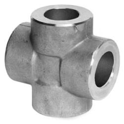 "1"" 3000# A105N Carbon Steel Socket Weld Cross Product Image"