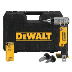 """20V Max Lithium Ion Cordless PEX Expansion Tool Kit, w/ 1/2"""", 3/4"""" and 1"""" Heads Product Image"""