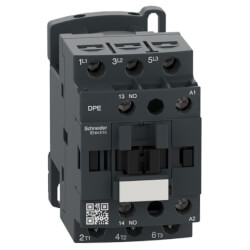 3 Pole Easy TeSys DPE IEC Contactor (7.5HP, 18A, 120 VAC, 480V) Product Image