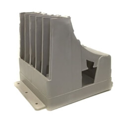 """Five-tube Stand-up Bracket for 1/2"""" PEX Product Image"""
