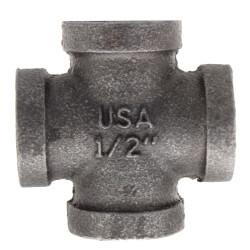 "1/2"" Black Cross Product Image"