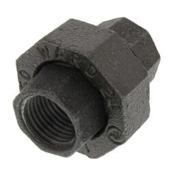 """1/2"""" Black Union Product Image"""
