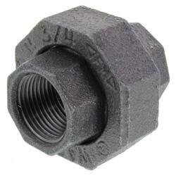 """3/4"""" Black Union Product Image"""