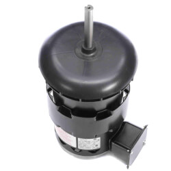 """5-5/8"""" Deluxe Commercial Condenser Fan Motor w/ 5/8"""" Flat & Key-B (6.4/3.2A) Product Image"""