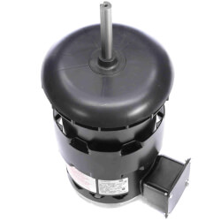 """5-5/8"""" Deluxe Commercial Condenser Fan Motor w/ 5/8"""" Flat & Key-B (7.0/3.5A) Product Image"""