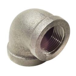 """1-1/2"""" Black Cast Iron Drainage Short Turn 90° Elbow Product Image"""