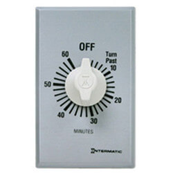 FF Series Commercial Auto-Off Timer, SPST (60 Minutes) Product Image
