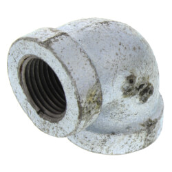 """3/8"""" Galv 90° Elbow Product Image"""